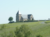 l'église de Chavot...