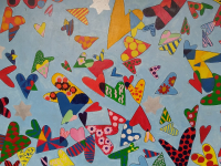fresque d'enfants